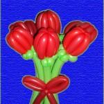 9 тюльпанов 270 руб
