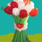 15 тюльпанов 450 руб