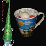 арт 6 елочка с чашкой цена 600 руб без стоимости конфет ( в чашку можно положить конфеты по Вашему желанию)